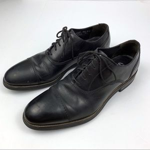 Clark Men's Leather Oxford Dress Shoes Black